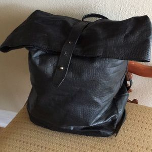 Handbags - Black backpack purse
